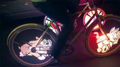 LED bike spokes | 10 High-Tech Gadgets For Weirdos