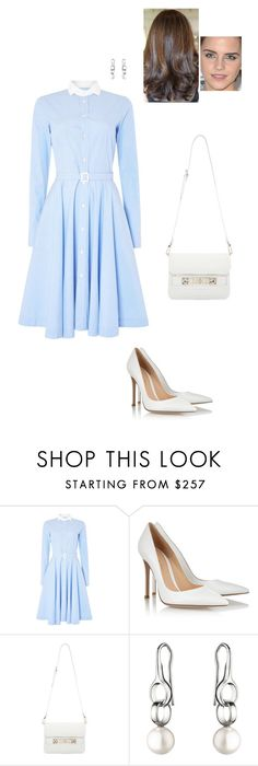 """""""Sem título #5763"""" by gracebeckett ❤ liked on Polyvore featuring Polo Ralph Lauren, Gianvito Rossi, Proenza Schouler and Georg Jensen"""