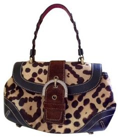RARE ~ Pre-Loved  ~ Coach™ Ed Madison Pony Hair Baguette. Starting at $390