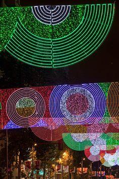 Christmas Lights. 2010, Madrid.