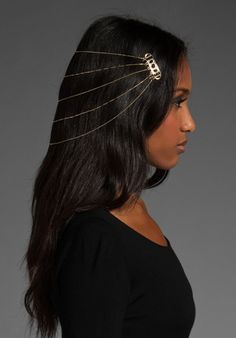 Belle Noel Egyptian hair chain - there's just something so cool about this, I plan on making one :)