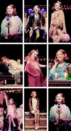 Emma Stone in Cabaret. I adore her.