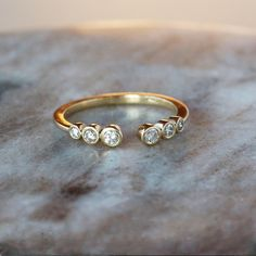 In creating your own wedding ring you can personalize the design to fit your tastes and even consist of secret symbols or messages to each other. Ring Ring, Stacked Wedding Rings, Diamond Wedding Bands, Purple Amethyst, Jewelry Rings, Jewellery, Beaded Rings, Gold Jewelry, Ring Designs