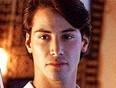 Keanu Reeves / Point Break (1991) gif