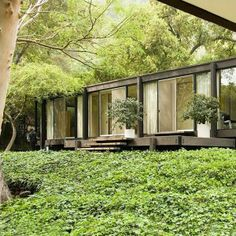 Residential Architecture, Contemporary Architecture, Architecture Design, Black House Exterior, Interior Exterior, Moore House, Concrete Houses, Weekend House, Forest House