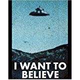 #7: The X-Files Promotional Alien UFO Poster 8 x 10 Photo