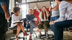 Group of young business professionals having a meeting by jacoblund. Shot of a group of young business professionals having a meeting. Diverse group of young designers smiling during a m. Pto Meeting, Understanding Anxiety, Young Designers, Business Professional, Business News, Business Funding, Business Flyer, Business Casual, Information Technology
