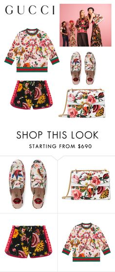 """""""Presenting the Gucci Garden Exclusive Collection: Contest Entry"""" by stars72402 ❤ liked on Polyvore featuring Gucci and gucci"""