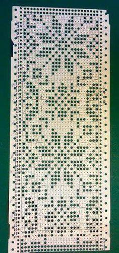 Knitting Machine Patterns, Sweater Knitting Patterns, Knitting Charts, Knitting Stitches, Crochet Girls Dress Pattern, Crochet Flower Patterns, Filet Crochet, English Paper Piecing, Tricks