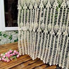crochet curtains <3