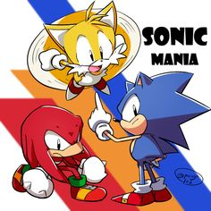 Sonic, Tails and Knuckles