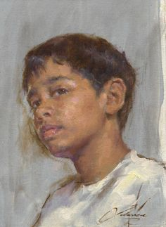 "Robert Liberace Allan Oil on panel -2010 12.7 x 17.78 cm (5"" x 7"")"