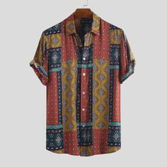 Mens Fashion Colorful Ethnic Printed Casual Shirts Source by banggoodonline fashion casual Fashion Casual, Men's Fashion, Casual Outfits, Ethnic Fashion, Fashion Beauty, Mens Long Sweater, Long Sweaters, Camisa Vintage, Camisa Floral