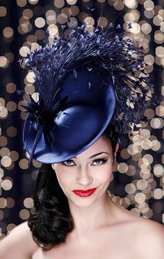 Guibert Millinery, Silver Screen Collection. #passion4hats