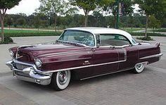 1956 Cadillac Sedan DeVille with Factory Air Conditioning. Cadillac Ats, New Sports Cars, Sport Cars, Vintage Cars, Antique Cars, American Classic Cars, American Pride, Chevy Classic, Us Cars