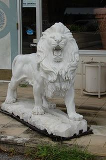 I don't know why-- other than John is a Leo, would I want one of these. But I want two. By the front entrance. It would be awesome.