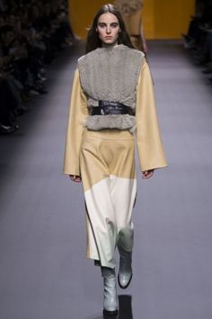 Hermes_pokaz-osen-zima-modnie-trendy-FW2016-2017-01 fashion style runway fashion week мех fur