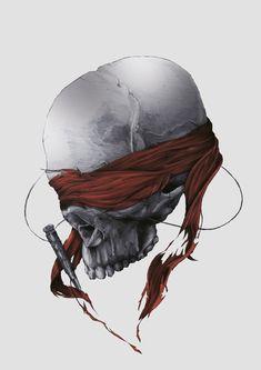 DEATH OR GLORY by Tomasz Majewski, via Behance