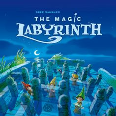 Other Contemporary Puzzles 2615: The Magic Labyrinth - Awarded Memory Maze Board Game -> BUY IT NOW ONLY: $41.95 on eBay!