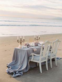 Siren of the Sea Coastal Wedding Ideas by Lavender & Twine on Wedding…