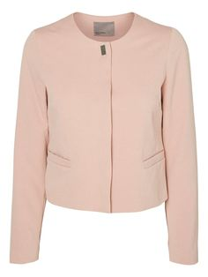 Powder pink blazer jacket from VERO MODA.