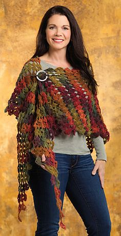 Drifting Leaves Shawl Crochet! Autumn