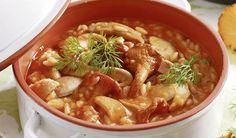 Hubová polievka so zeleninou