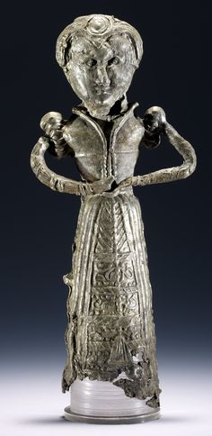 Late 1500s  Pewter doll, late 16th century (British Museum 2009,8020.5)