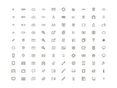 100 Icons by Yihsuan Lu
