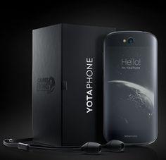 El YotaPhone tiene la pantalla táctil en la parte delantera y trasera
