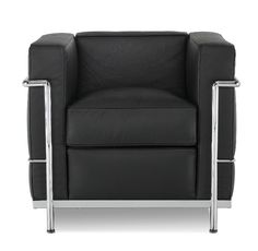 The Le Corbusier and and Eames Plastic Armchair is more colloquially referred to as the petit comfort and grand comfort and has been featured in varied kinds of media arousing interest in people's minds. Le Corbusier, Porch Chairs, Living Room Chairs, Rodin, Sofas, Chair Repair, Ikea, Sweet Home, Chair Pictures
