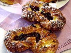 La buona cucina di Katty: Le mie danesi.... alla crema, alla frutta e con marmellata e uvetta!