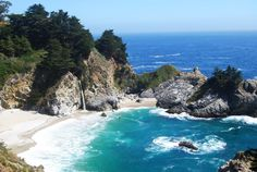 McWay Falls, California jigsaw puzzle