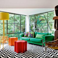 Une maison aux couleurs pop - Marie Claire Maison