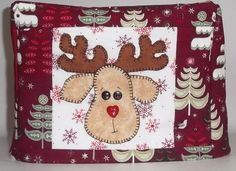 Reindeer Toaster Cover by PatsysPatchwork on Etsy, $16.00