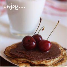 Leite de Arroz e Nutella Caseira para enriquecer seu café da manhã