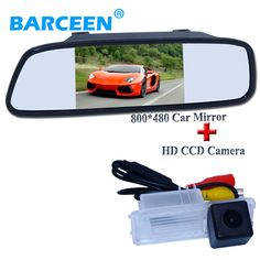 """Night vision function for special car  rear view camera  and car  mirror monitor 5"""" for Volkswagen GOLF 6 /Magotan"""