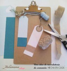 Una idea de recordatorio de Comunión hecha en casa | Holamama blog