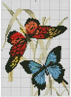 """Otra entrega gratis para tu colección personal """"Plantillas de mariposas gran diseño"""""""