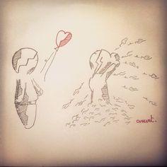Bwwwaaaargg #Anart #Draw #Automn #Love #Scare #Joke #Life #Couple #Dessin #Sketch