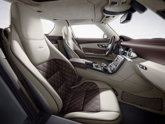 Der SLS AMG: designo Leder Exklusiv bis Exklusiv Style sorgen für exklusiveres Ambiente | Mercedes-Benz Passion Blog