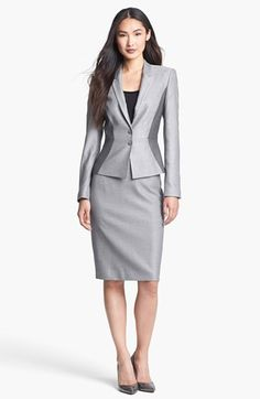 BOSS Black Jacket & Skirt  available at #Nordstrom @Elaine Hougland