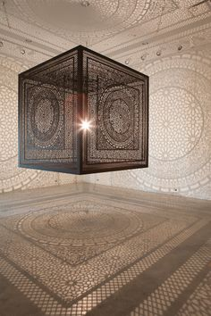 shadow cube light installation art interesctions by anila quayyum agha (1)