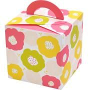 Free PDF download spring flower box party favour gift