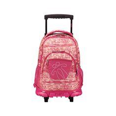 Mochila Escolar con Ruedas, Mochila Grande Infantil. Color Rosa. Estampado Relieve - Mochila Totto: Amazon.es: Equipaje Backpacks, Color Rosa, Bags, Fashion, Baggage, Colors, Handbags, Moda, Fashion Styles