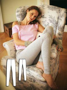 Leggings 01/2011 #130B http://www.burdastyle.com/pattern_store/patterns/leggings-012011?utm_source=burdastyle.com&utm_medium=referral&utm_campaign=bs-tta-bl-160401-LazyDayCollection130B