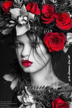 Photography Women, Beauty Photography, Portrait Photography, Fashion Photography, Photography Flowers, Editorial Photography, Foto Fantasy, Foto Portrait, Night Portrait
