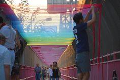 Rituals es un trabajo de street art que realizó el artista HOTTEA en la ciudad de Nueva York.