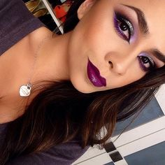 Used Mac - Dose of Colors Motives -Anastasia products to create this look ️