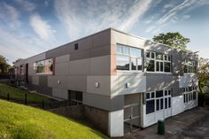 Rainscreen cladding at Scarborough Sixth Form College